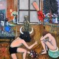 Eric Corne-tableau a la croix_2014